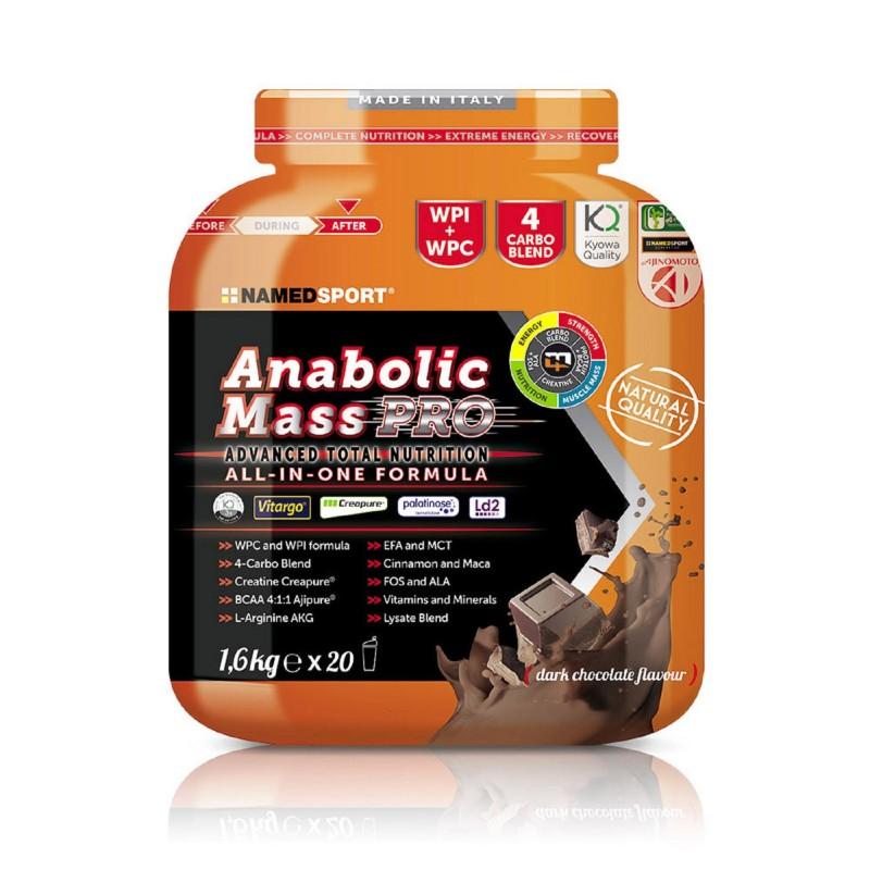 NAMEDSPORT Anabolic Mass PRO 1600g